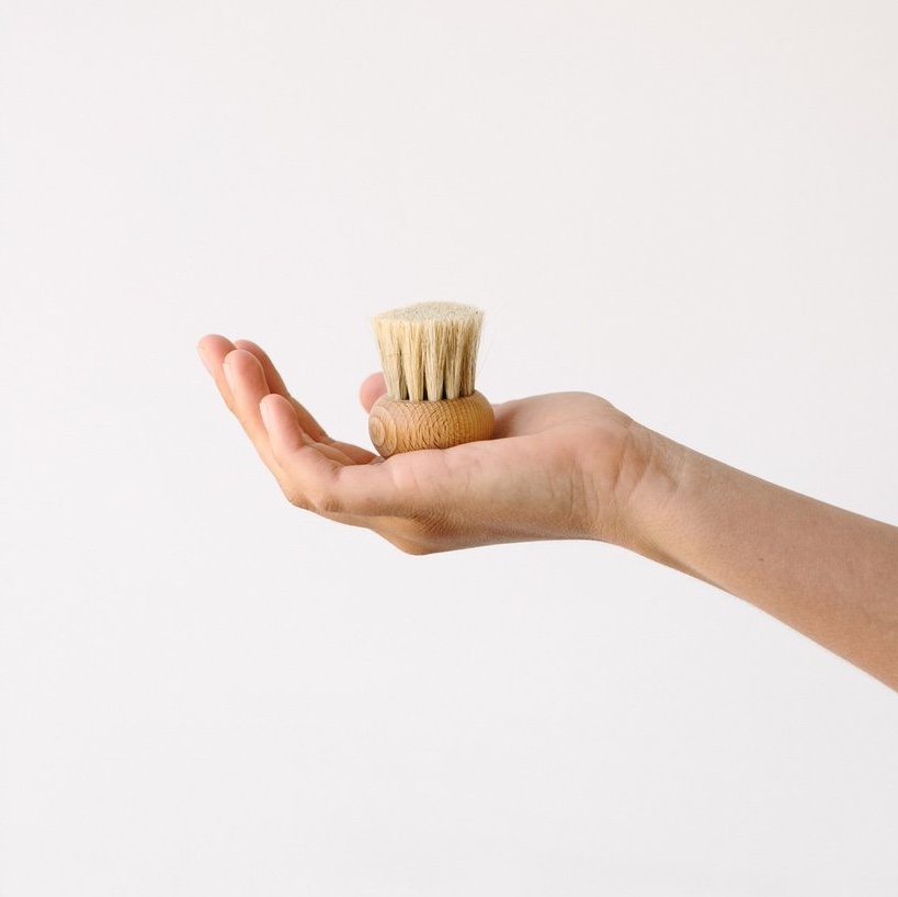 Mushroom brush round