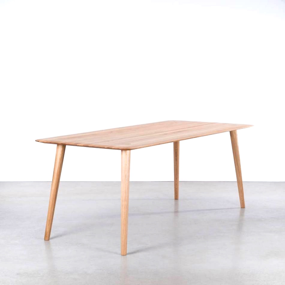 Scandi oak table