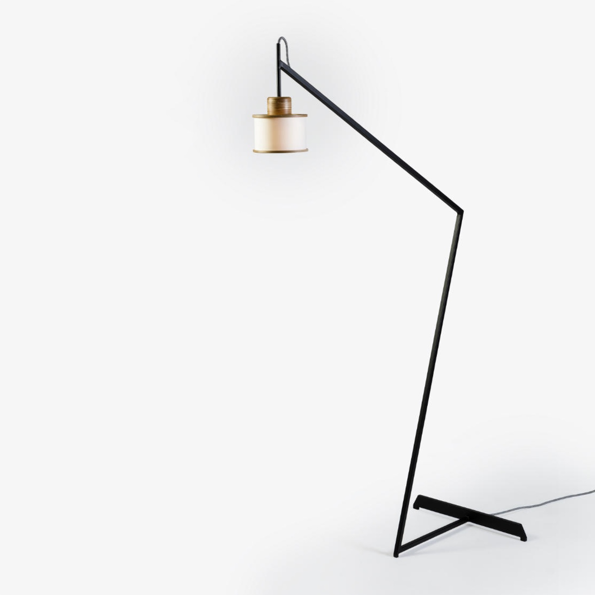 Over Floor Lamp Black