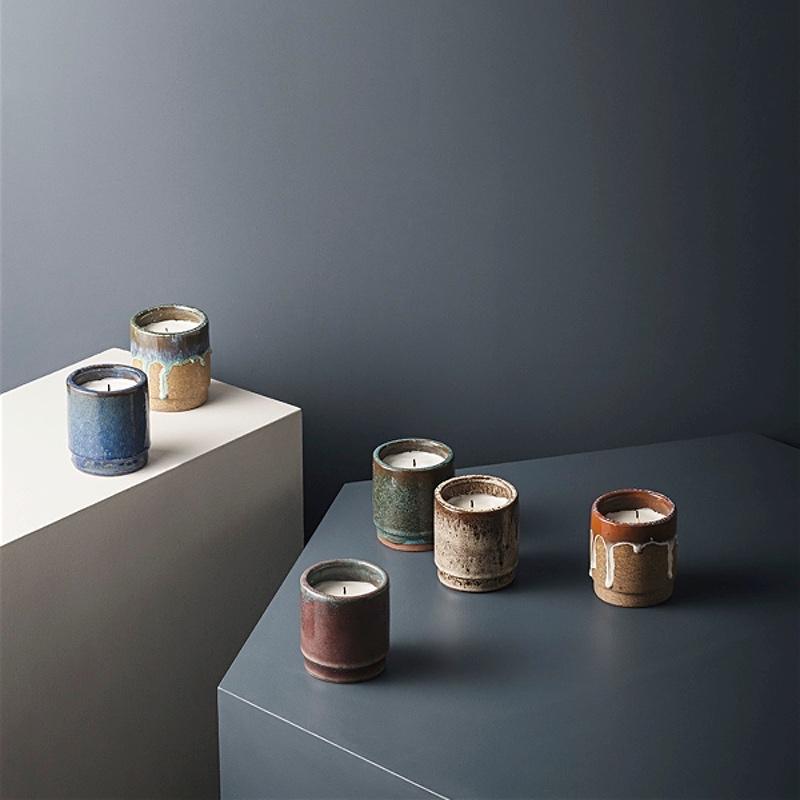 Fig Ceramic Candle