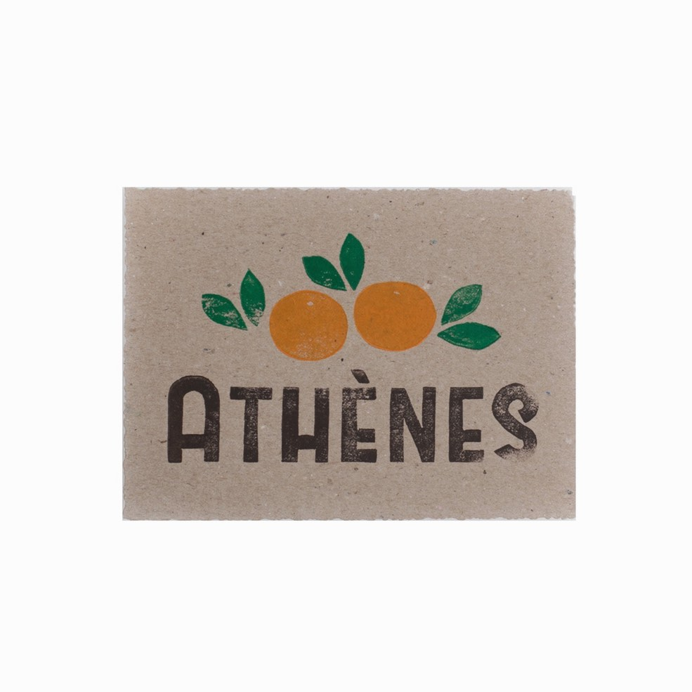 Cart Postal Athènes