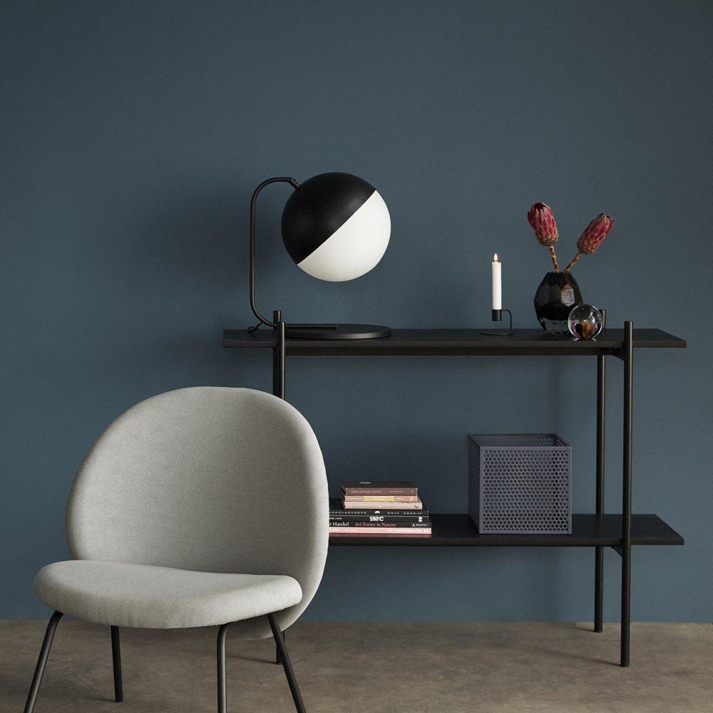 B&W Table Lamp