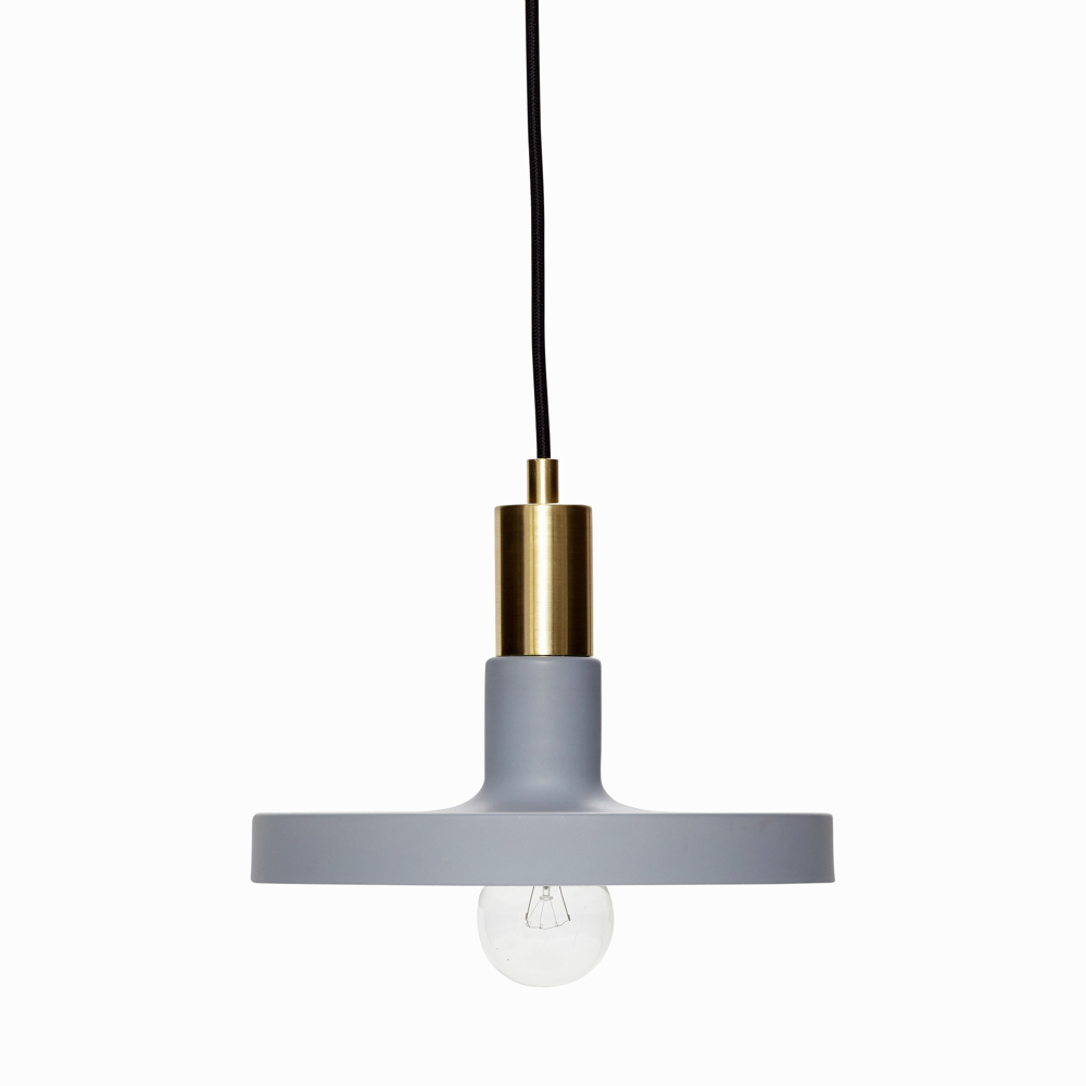 Blue-Grey Pendant Light