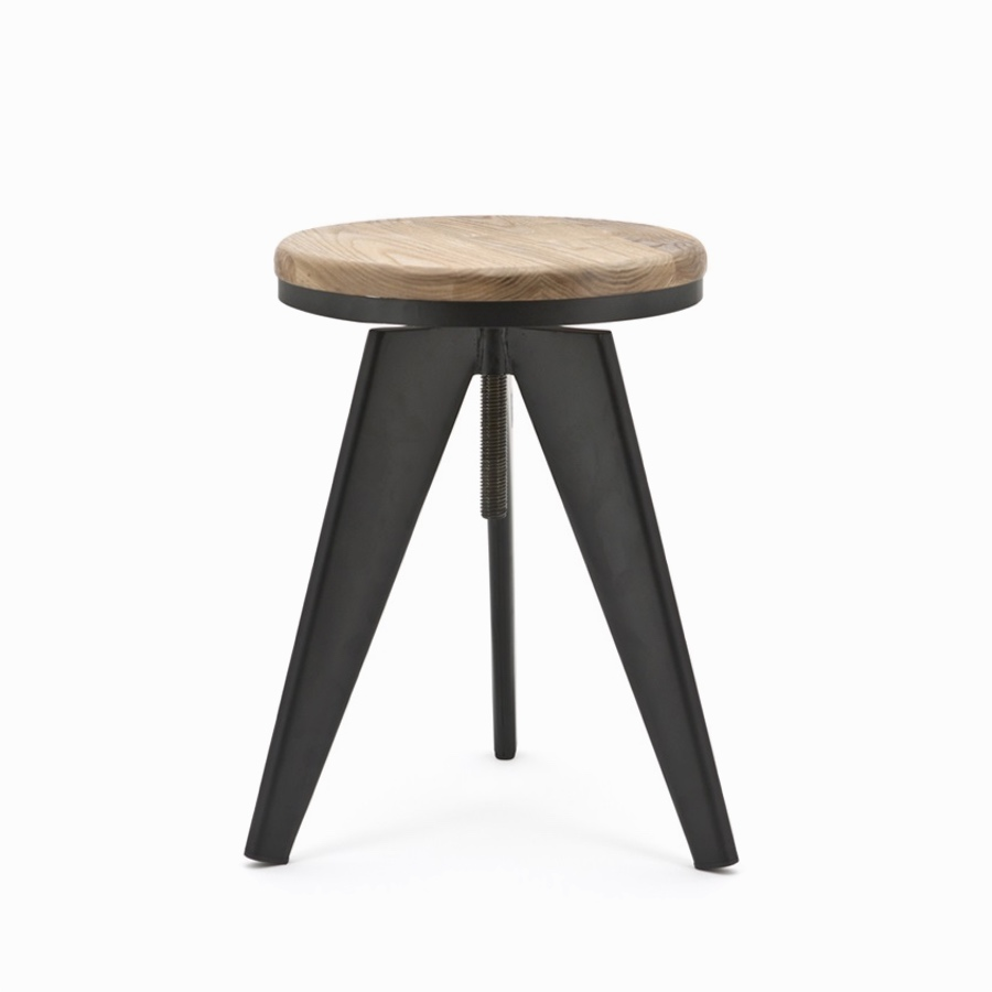 Twister Stool Black