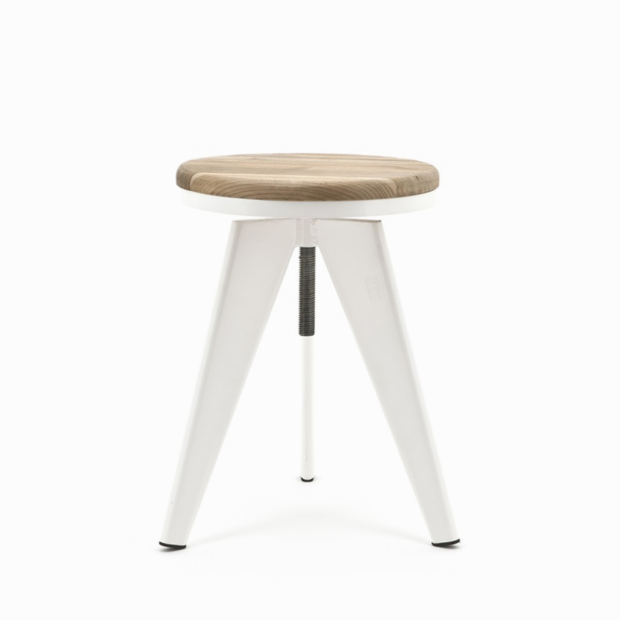 Twister Stool White