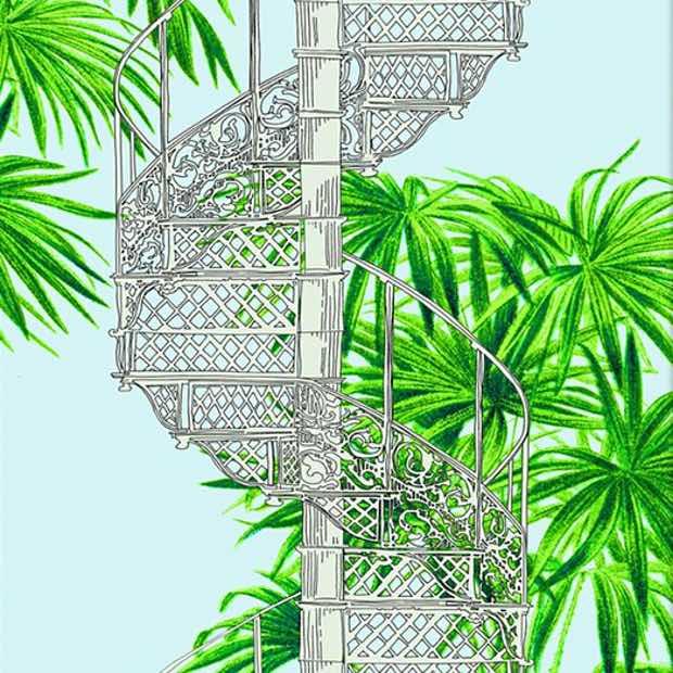 Palm House Copenhagen Staircase