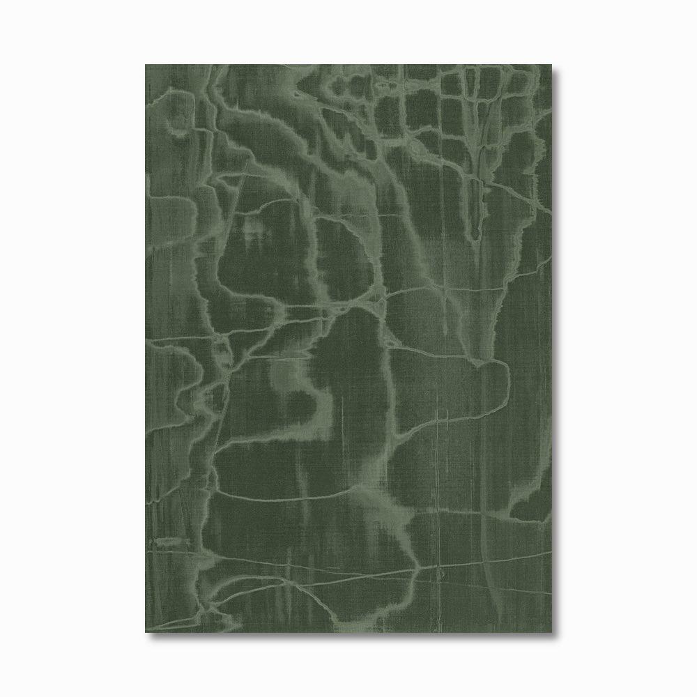 Green Book Cover Canvas
