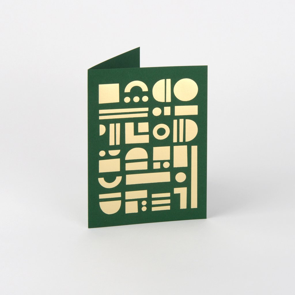 Artefact Card Brass & Forest