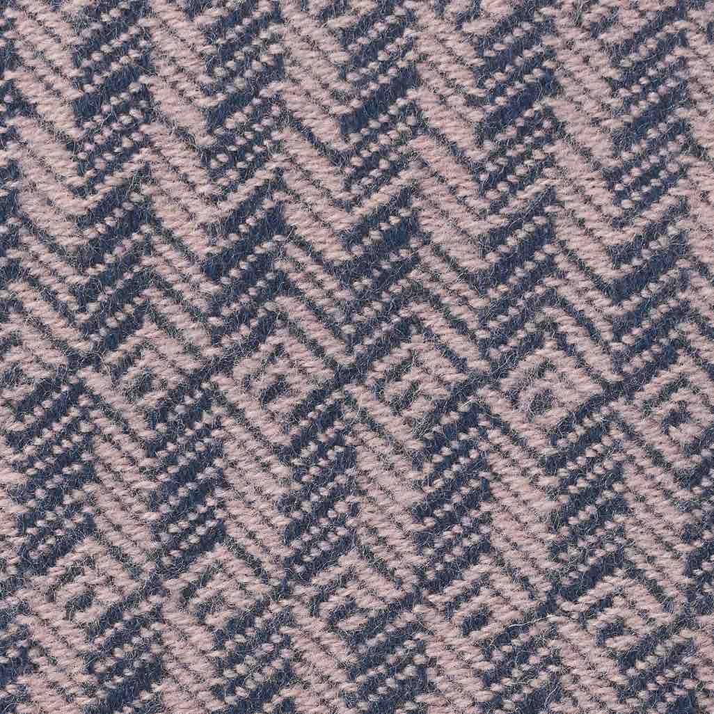 Tage Wool Throw Lilac-Blue