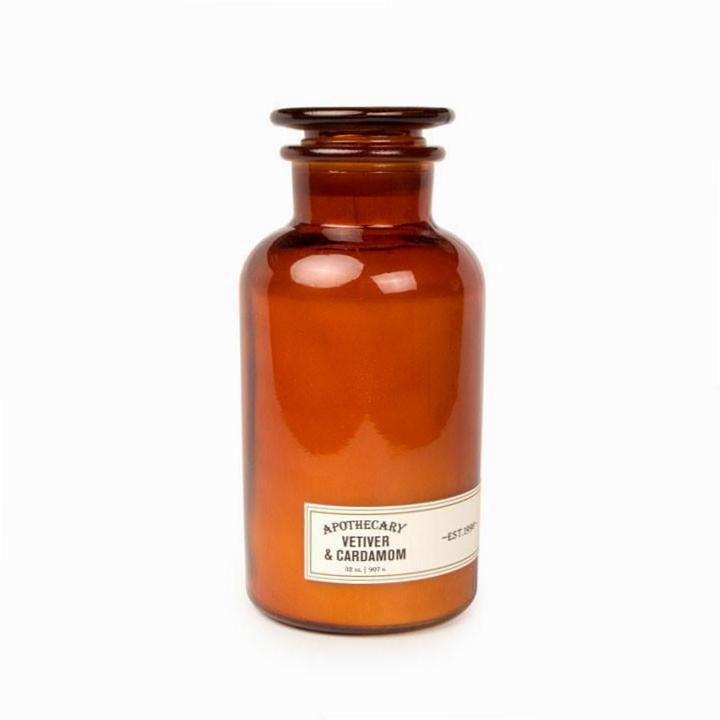Vetiver & Cardamon Apothecary Candle XL