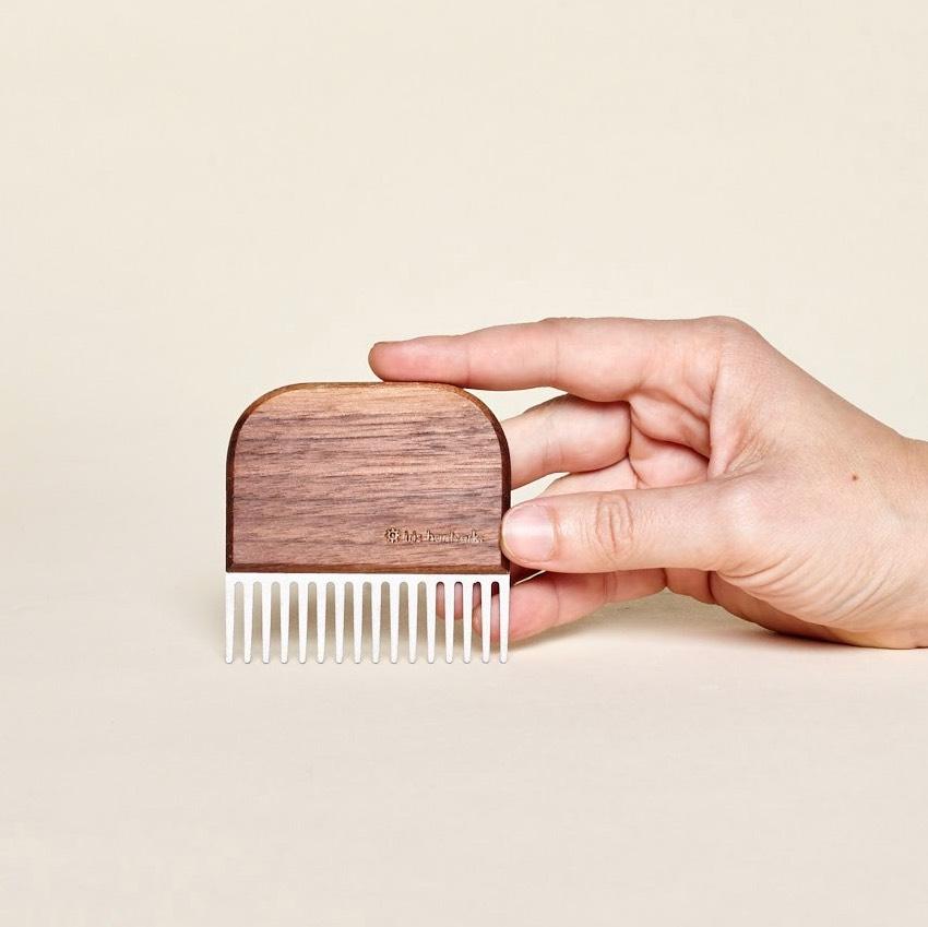 Beard Comb Walnut