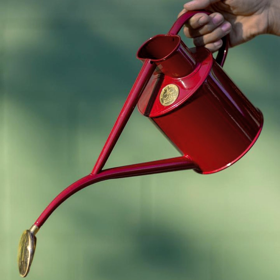 Watering Can 1L Burgundy