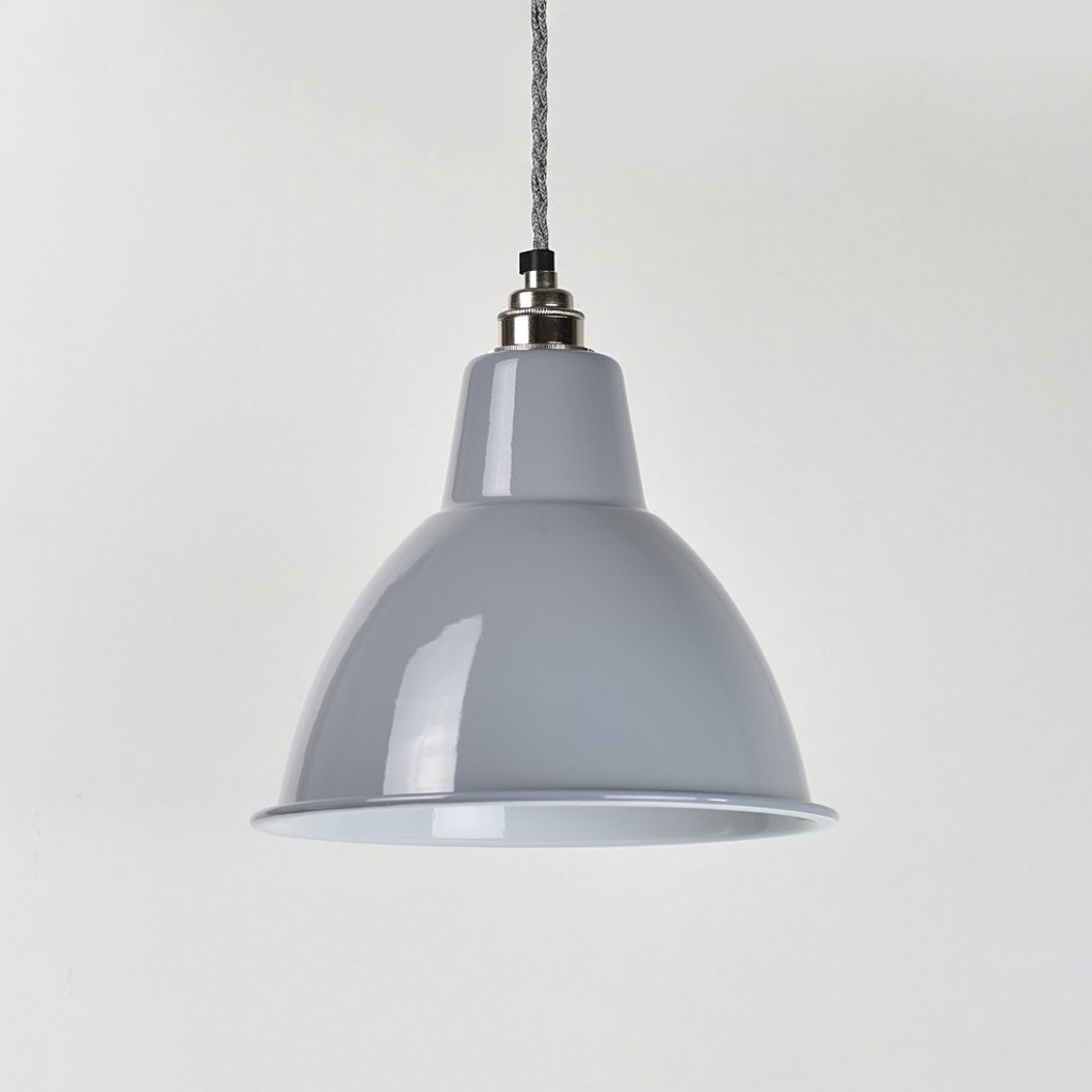 Dome Enamel Shade Grey