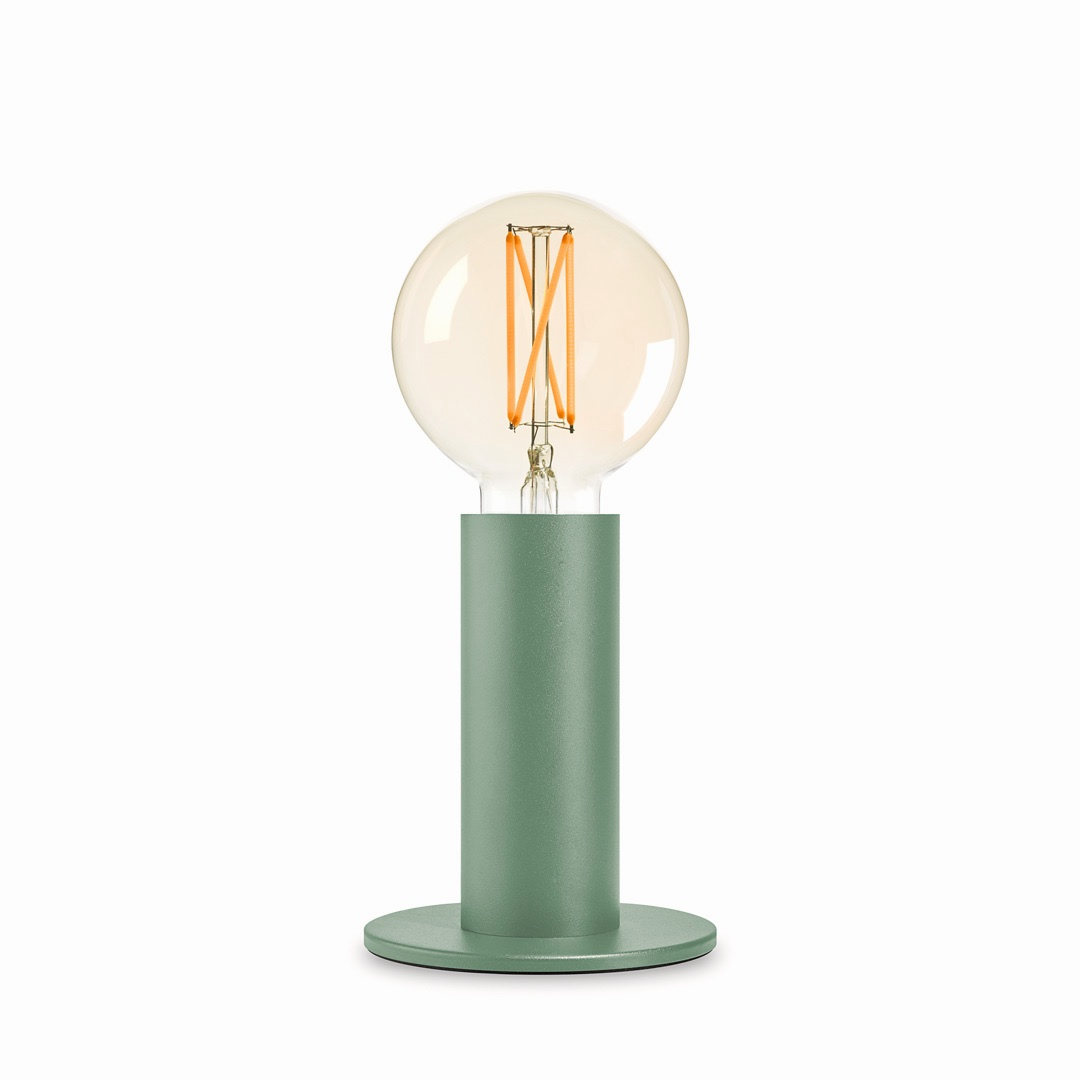 Cement Green Sol Lamp
