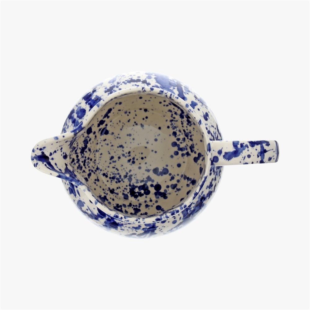 Blue Splatter 3 Pint Jug