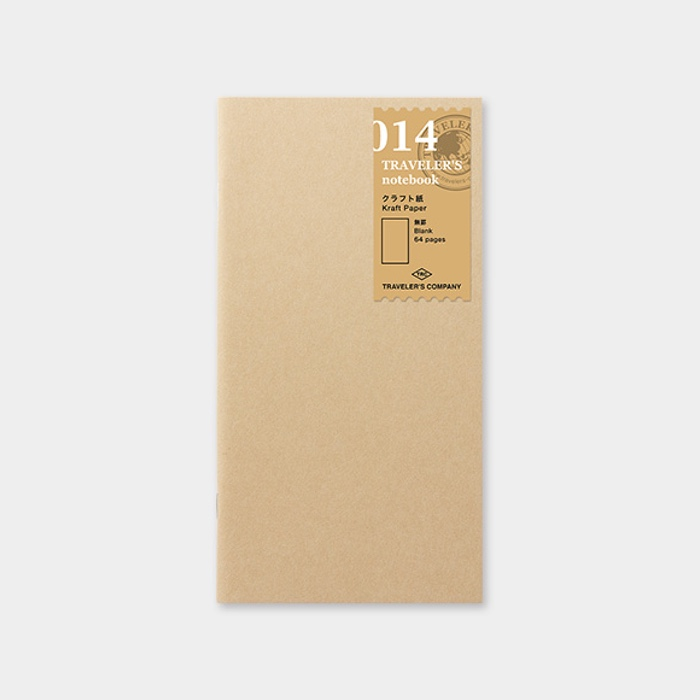 Traveler's Notebook Refill Kraft Paper