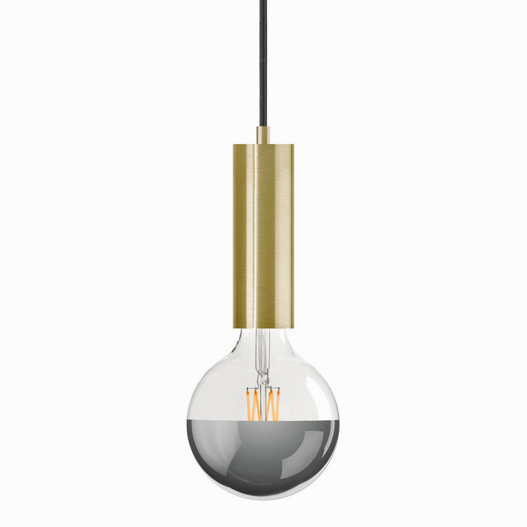 Gold Sol Plug-In Pendant Lamp