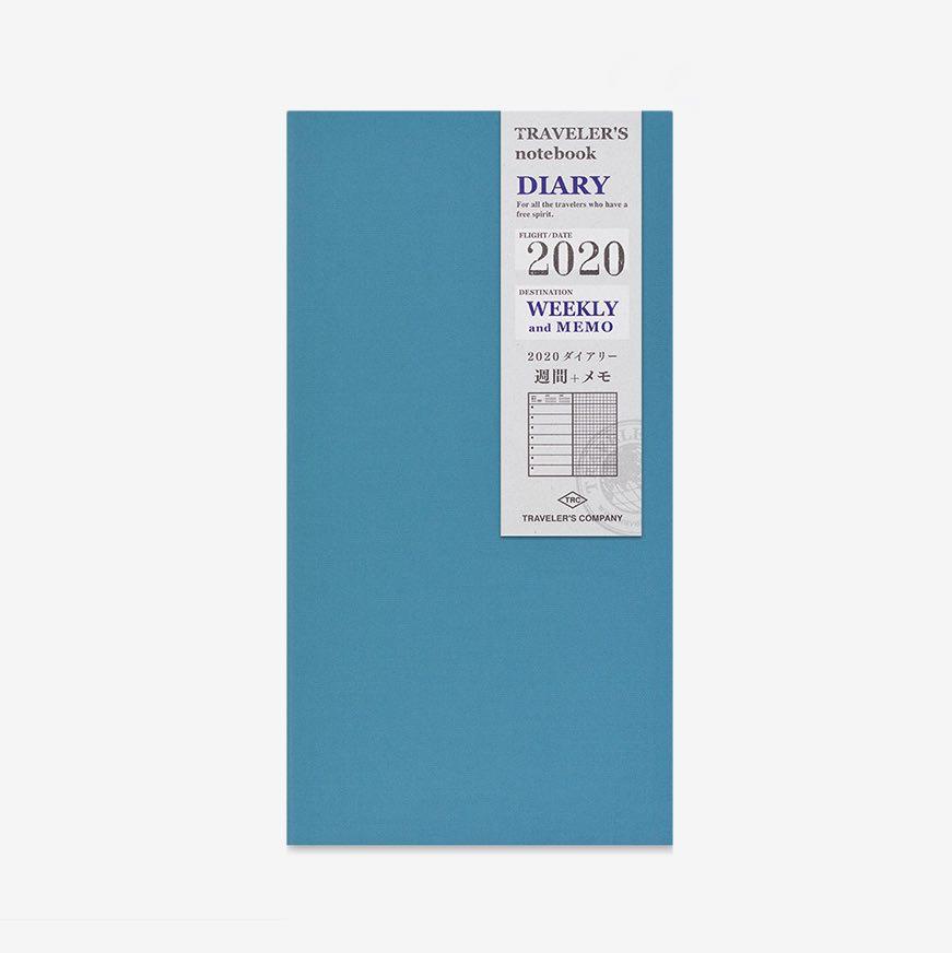 Traveler's Notebook 2020 Diary Weekly+Memo