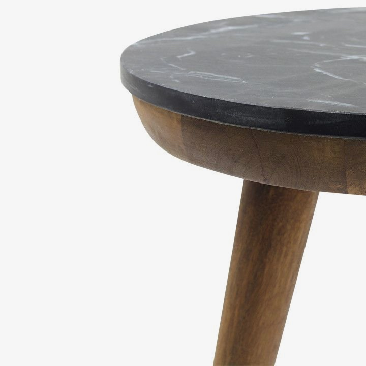 Tri Marble Side Table
