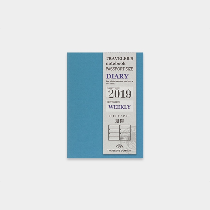 Traveler's Notebook 2019 Passport Diary Weekly