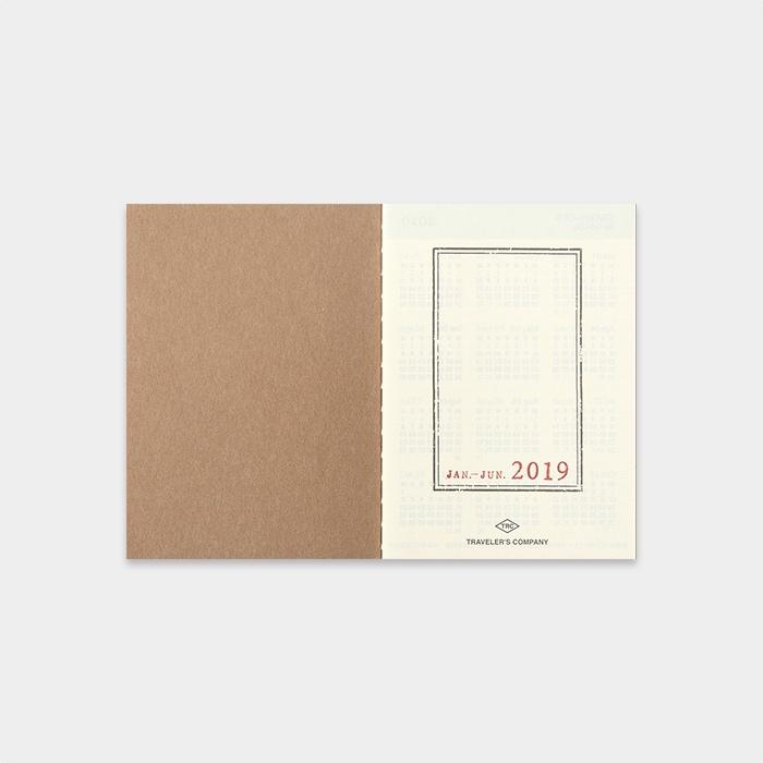 Traveler's Notebook 2019 Passport Diary Weekly