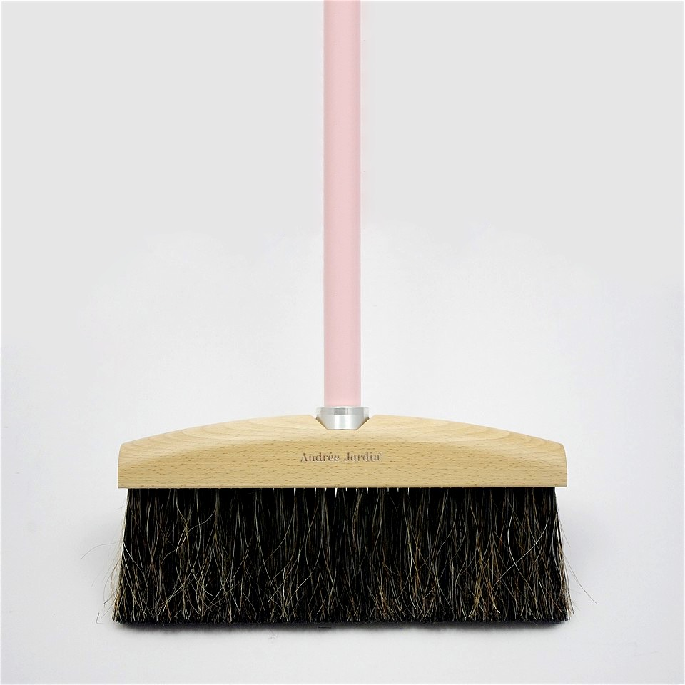 Wooden Broom Pink