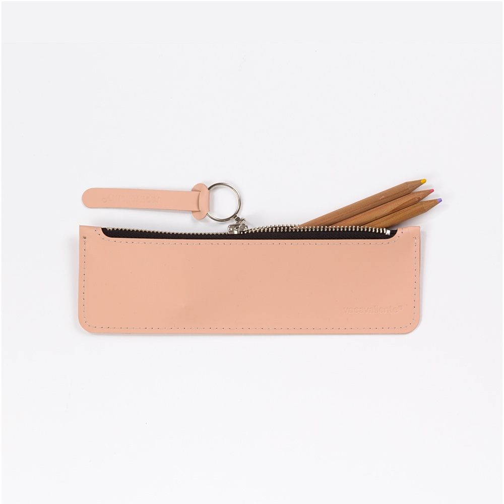 Flat Pencil Case Rose