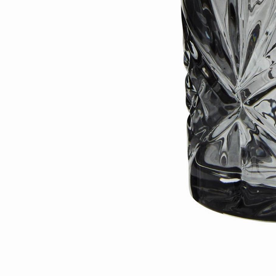 Grey Glass Tumbler
