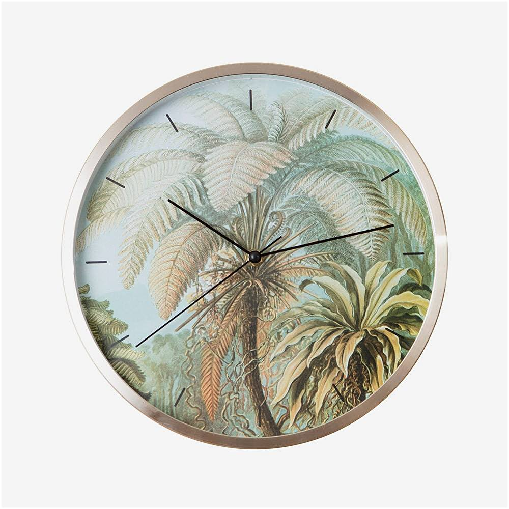 Wall Clock Palm