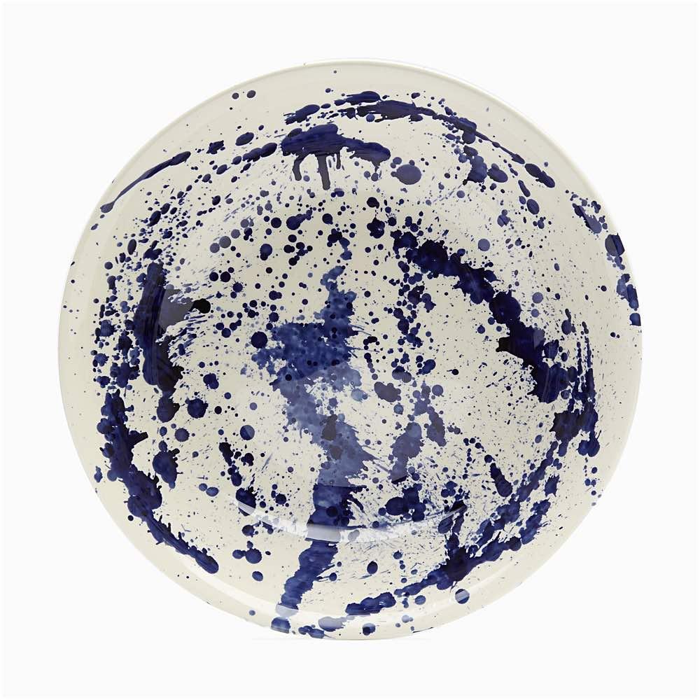 Blue Splatter XL Dish