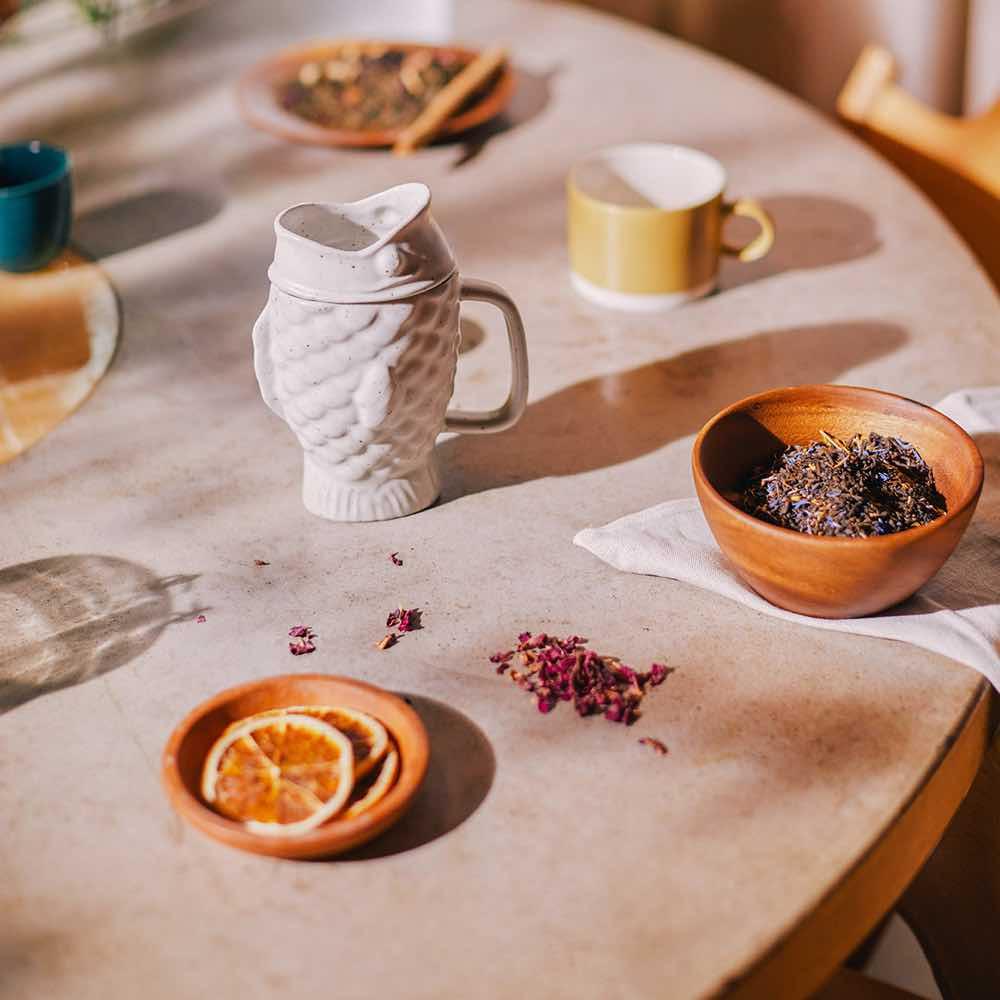 Tea Mug Cream
