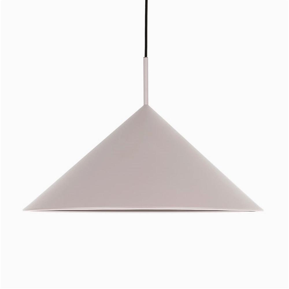 Triangle Pendant Lamp Grey