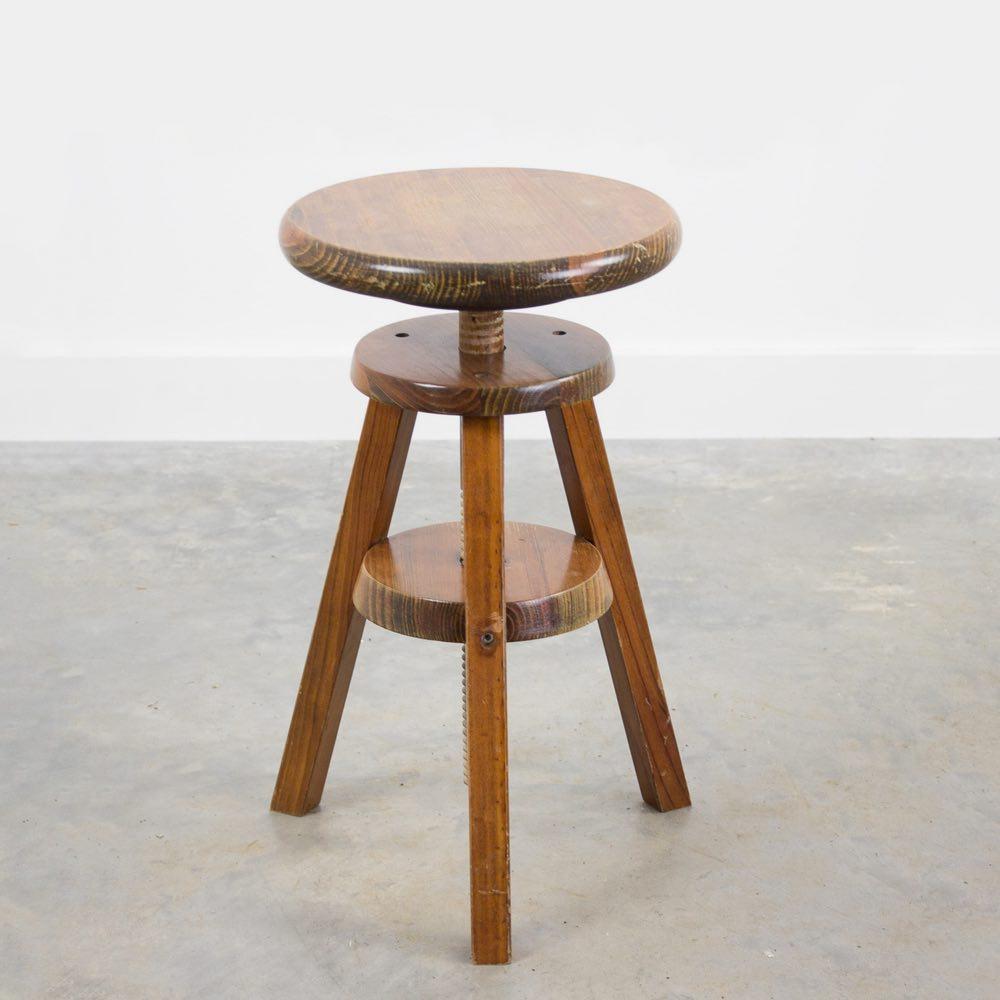 Vintage atelier stool