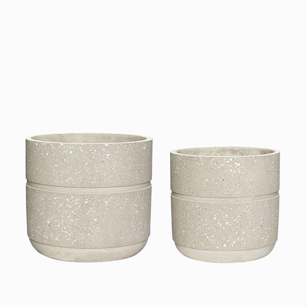 Concrete Pot Beige