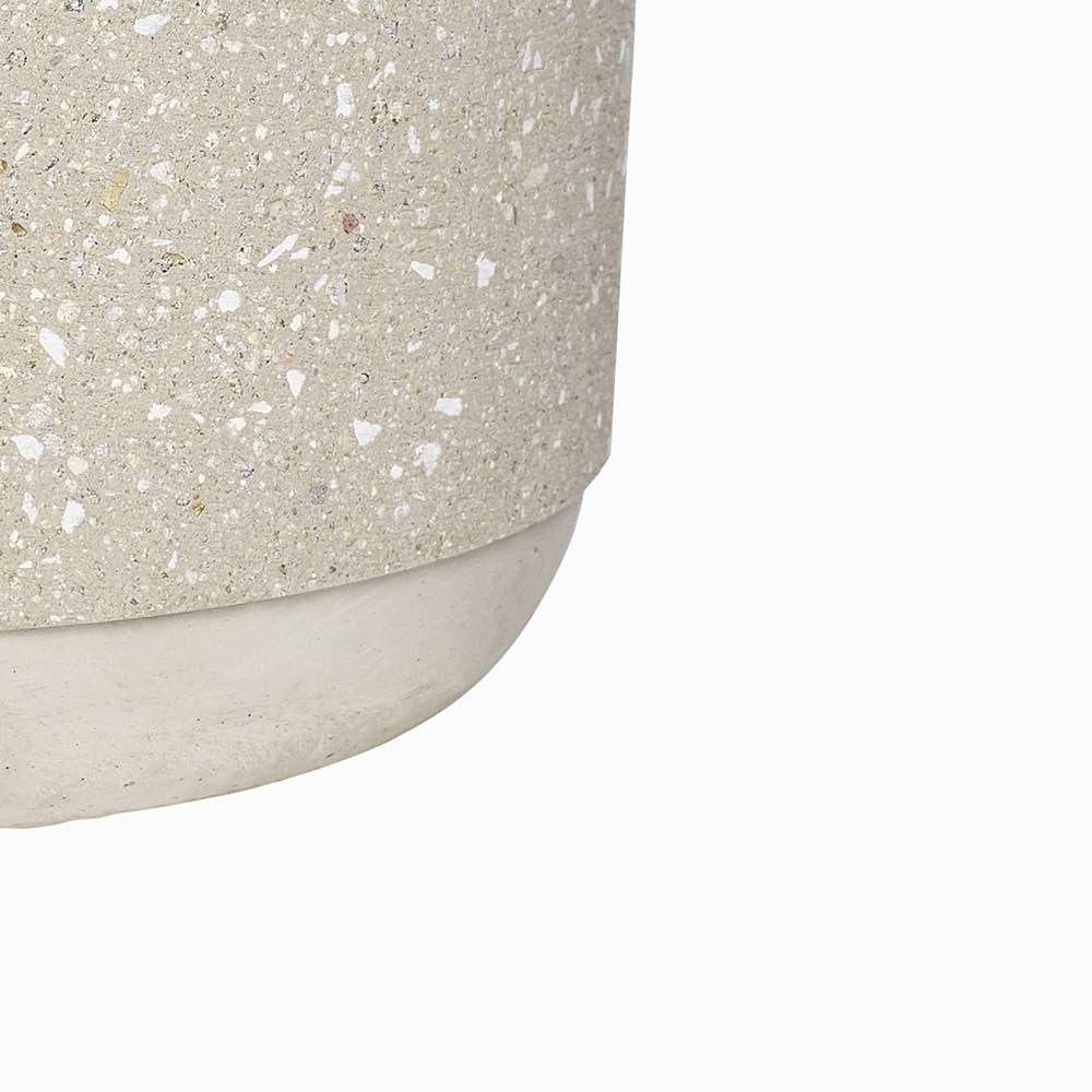 Concrete Pot Beige