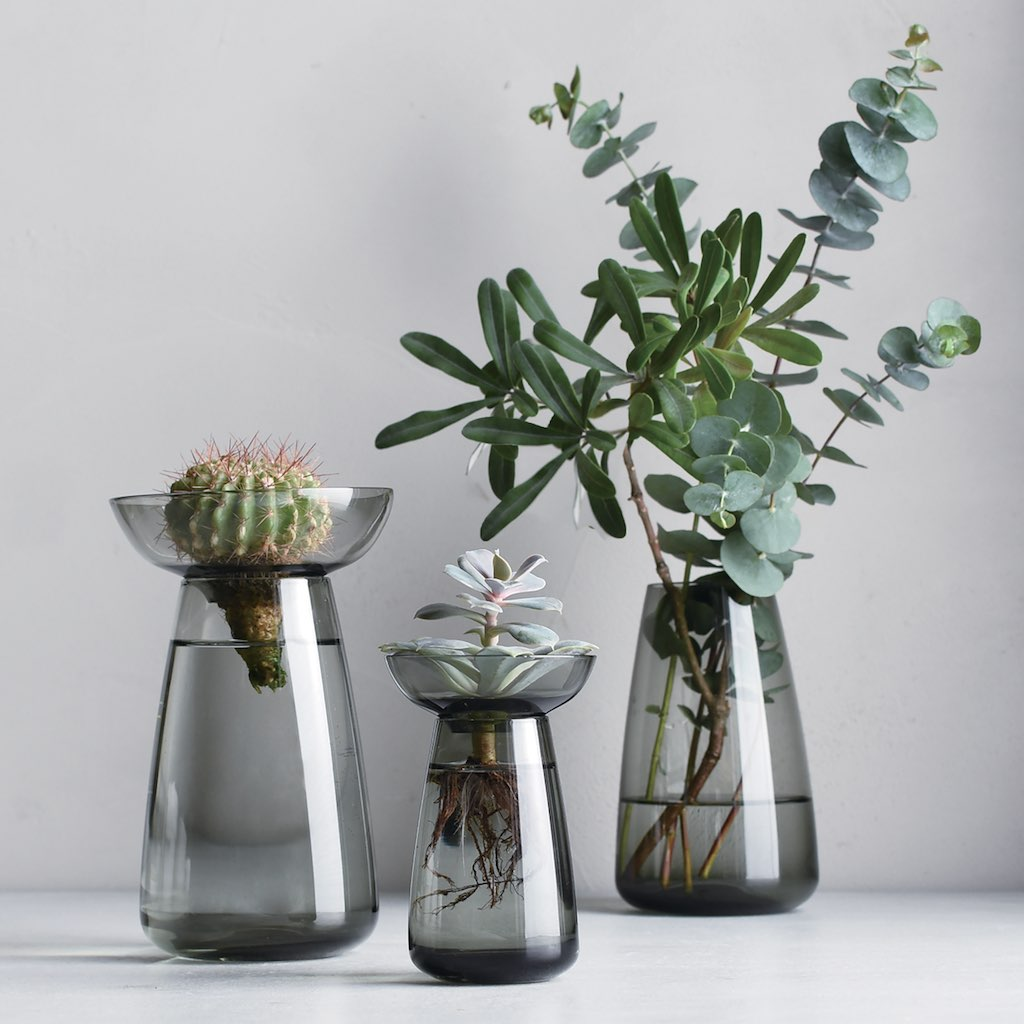 Japanese Aqua Vase