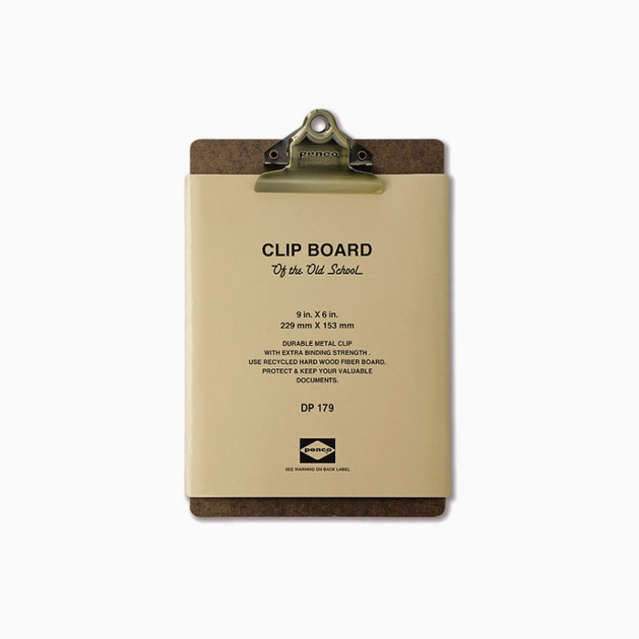 Clipboard A5 Bronze