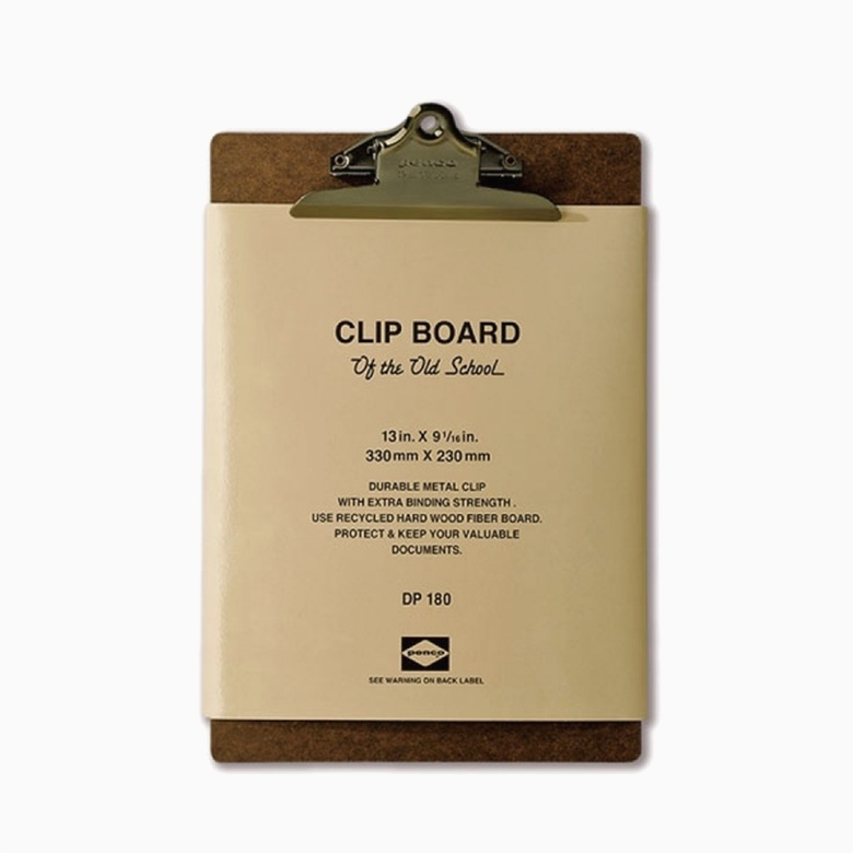 Clipboard A4 Bronze