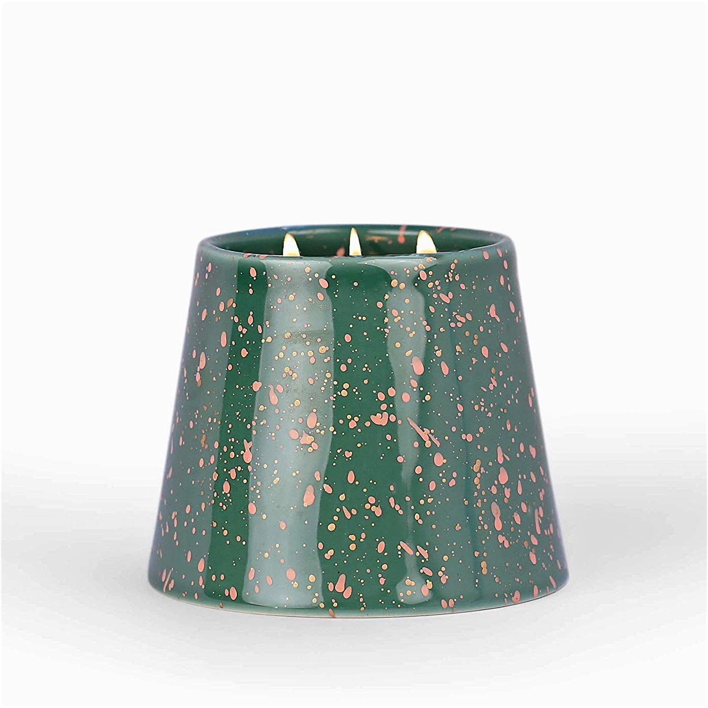 Confetti 14oz Candle Cypress & Suede
