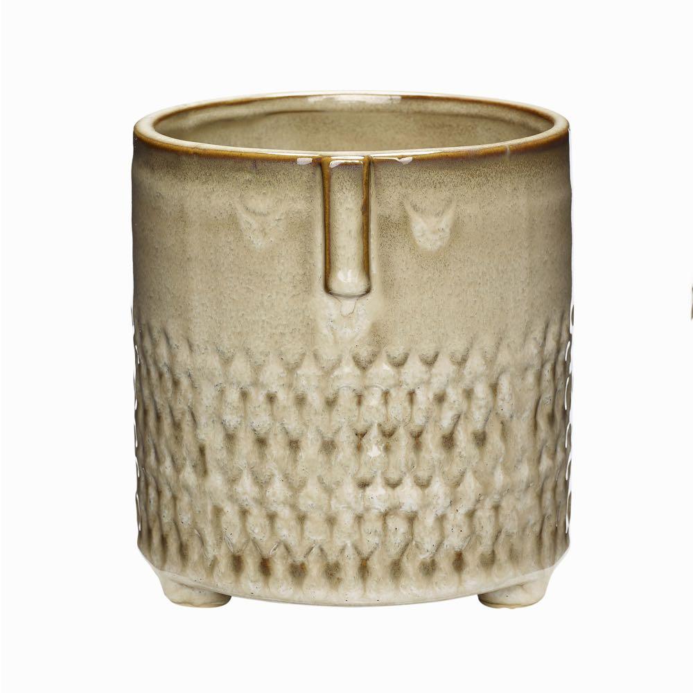 Owl Ceramic Pot