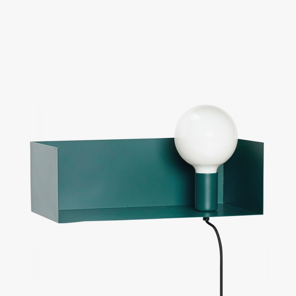 Shelf Lamp Green