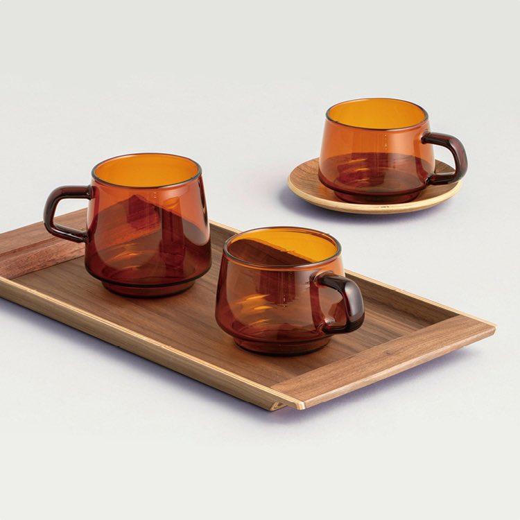 Slow Coffee Walnut Tray