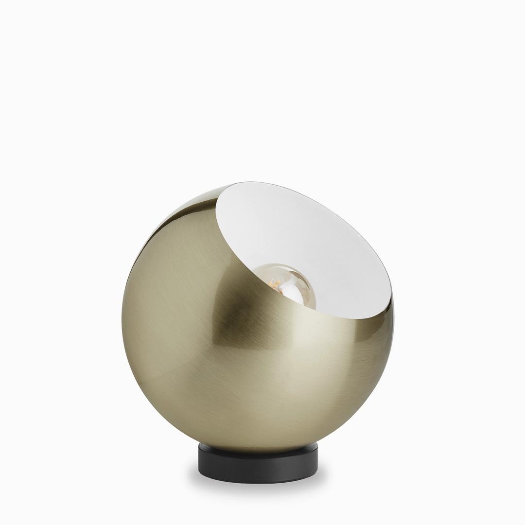 Komet Antique Brass Lamp