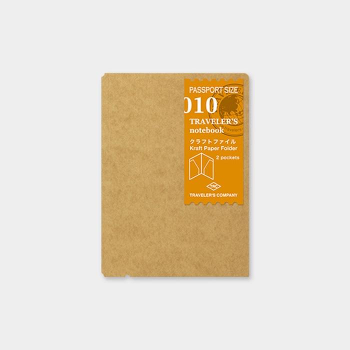 Traveler's Notebook Passport Kraft Folder