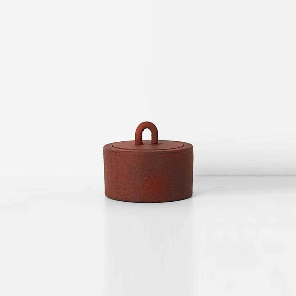 Buckle Jar – Rust