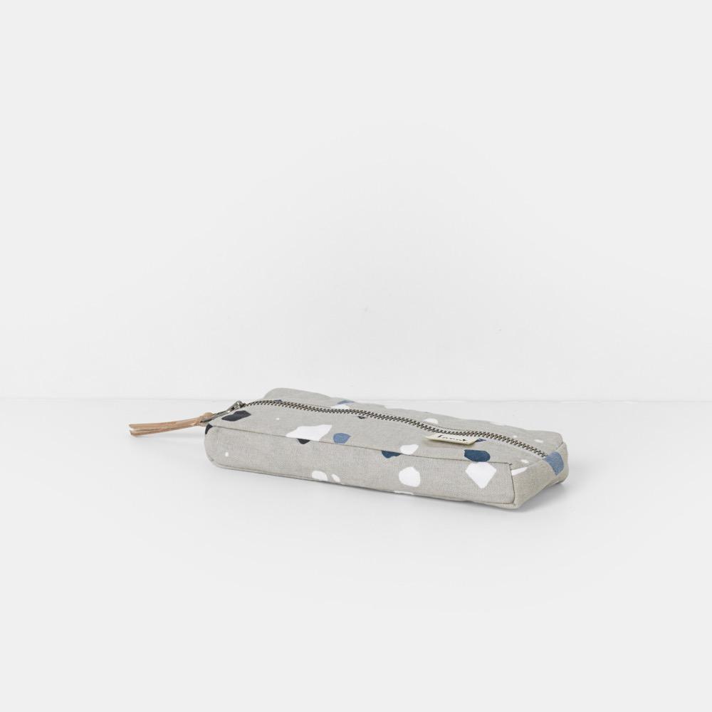 Pencil Case Terrazzo Grey