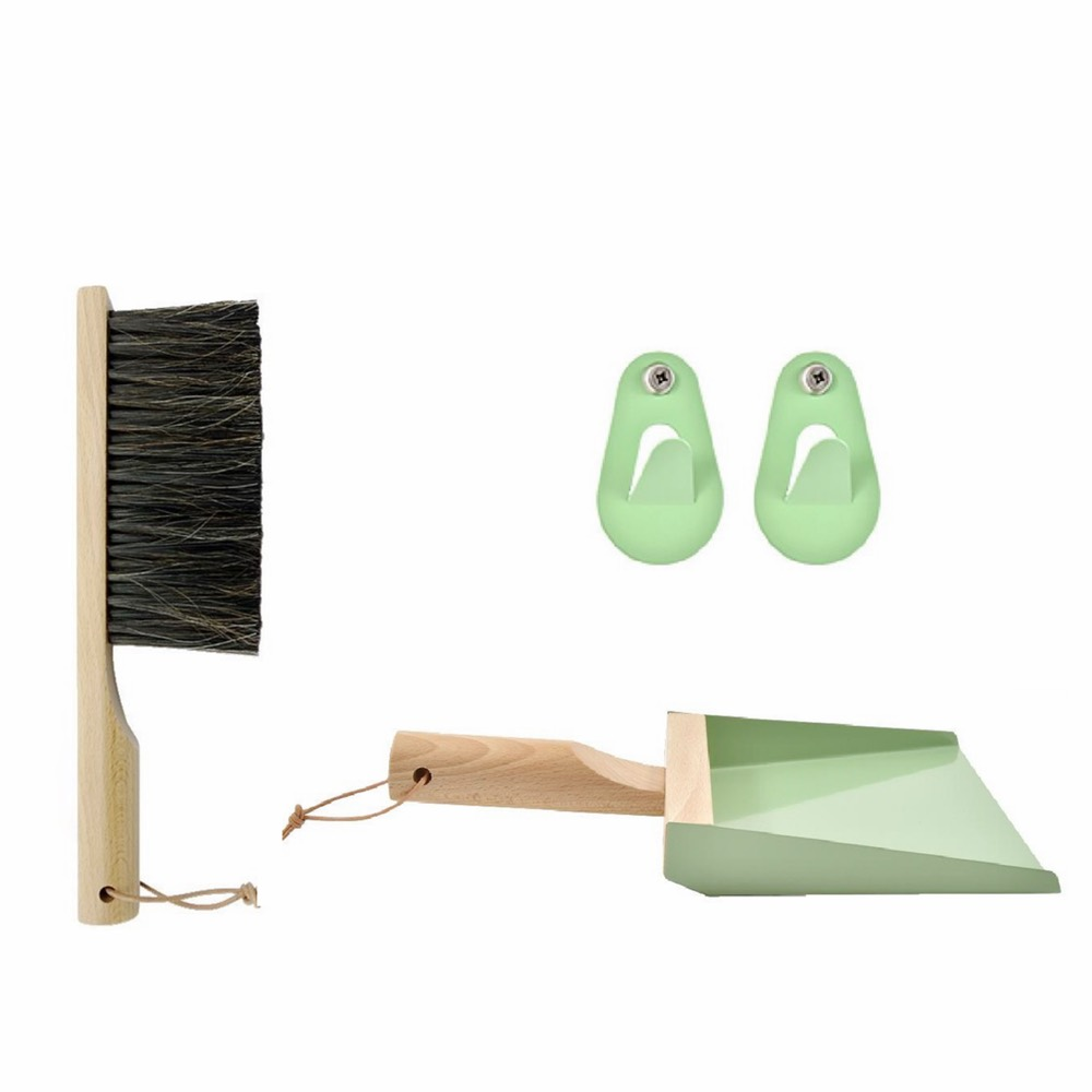 Broom & Dustpan Set Sage
