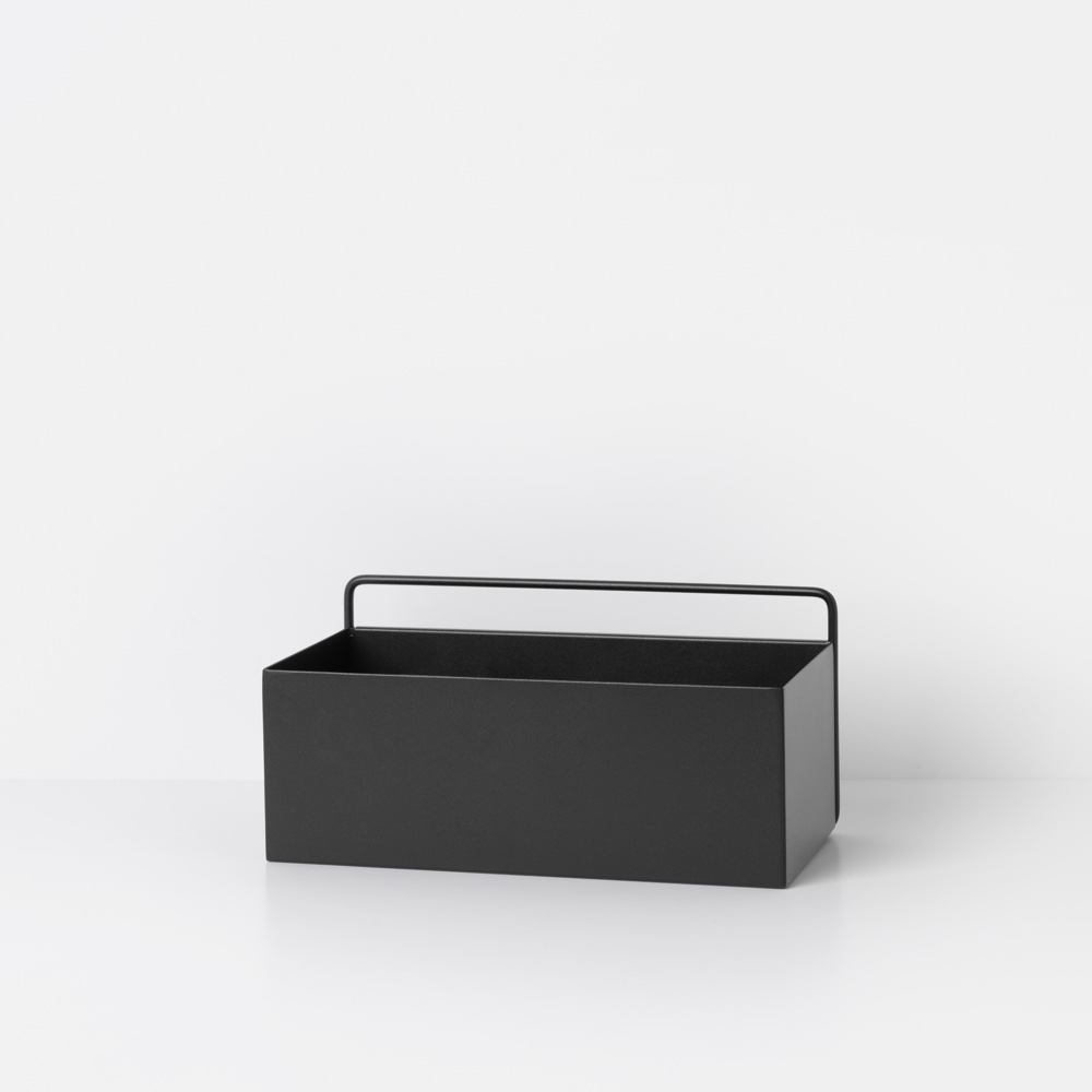 Wall Box Rectangle – Black