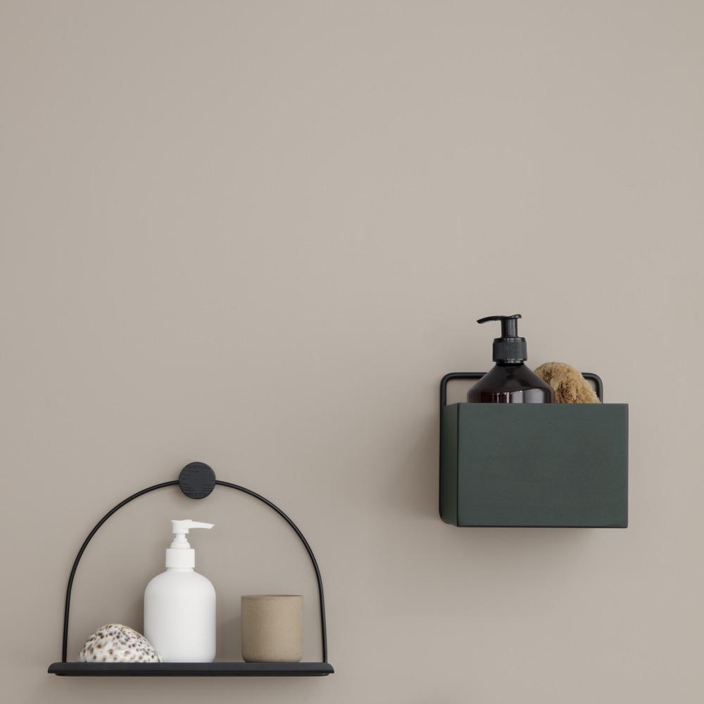 Wall Box Square – Dark Green