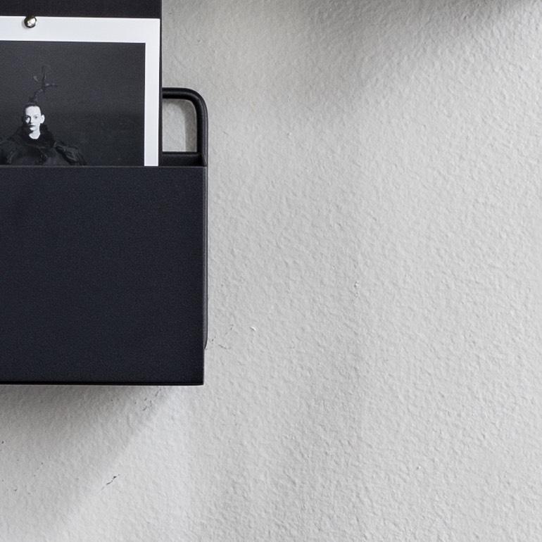 Wall Box Rectangle – Black